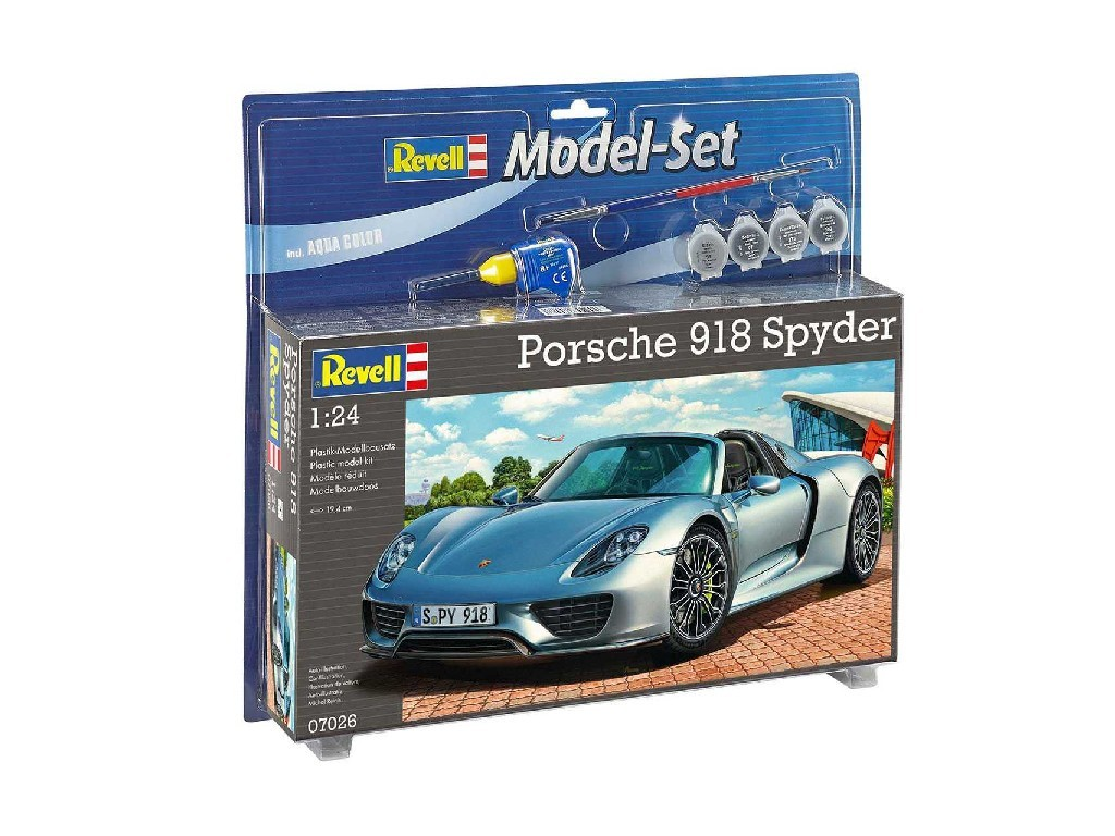 Revell - 67026 - ModelSet auto 67026 - Porsche 918 Spyder 1:24