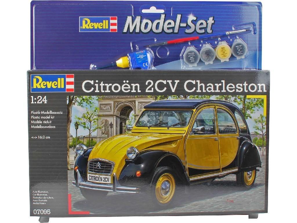 Revell - 5688 - ModelSet auto 67095 - Citroen 2CV 1:24