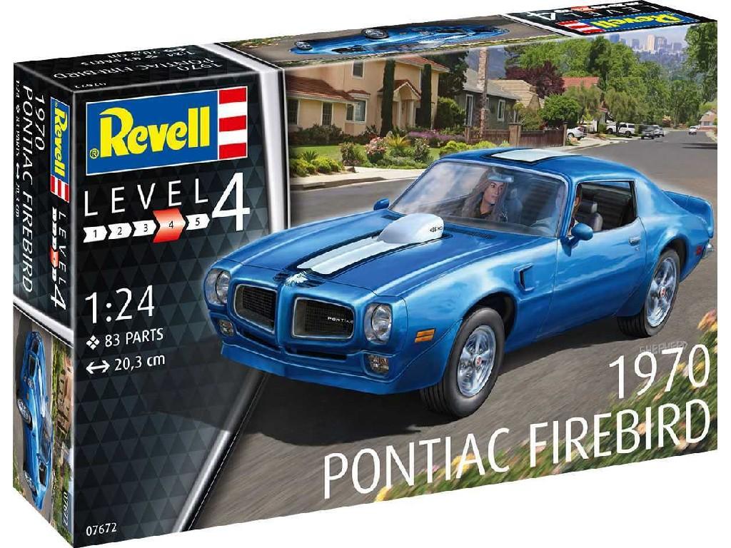 Revell - 07672 - 1970 Pontiac Firebird 1:24