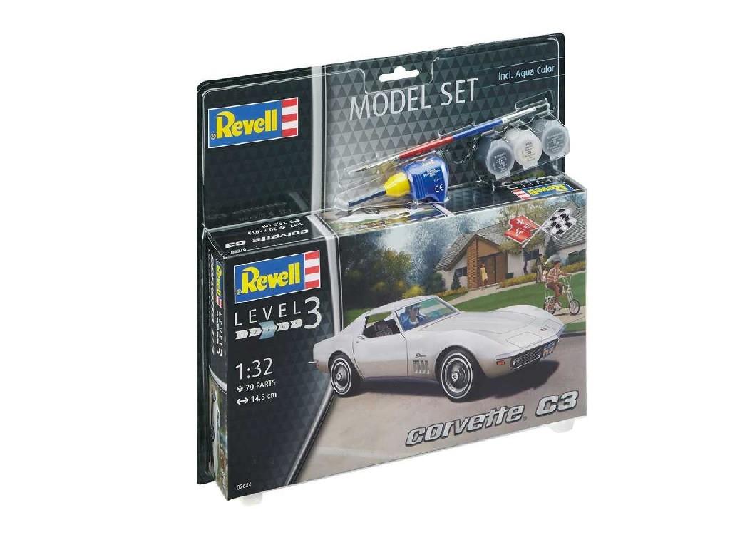 1/32 ModelSet auto 67684 - Corvette C3