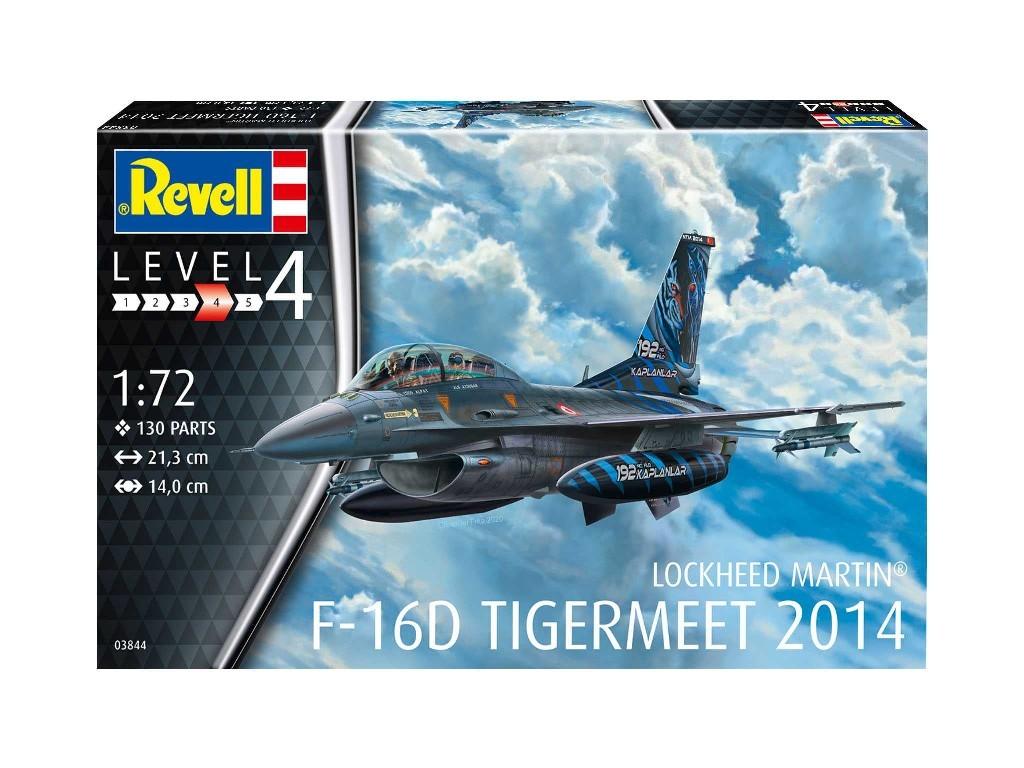 Revell - 63844 - Lockheed Martin F-16D Tigermeet 2014 1:72