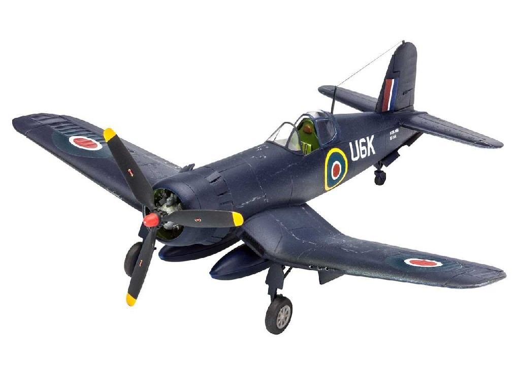 1/72 Plastikový model Set - letadlo 63917 - F4U-1B Corsair Royal Navy