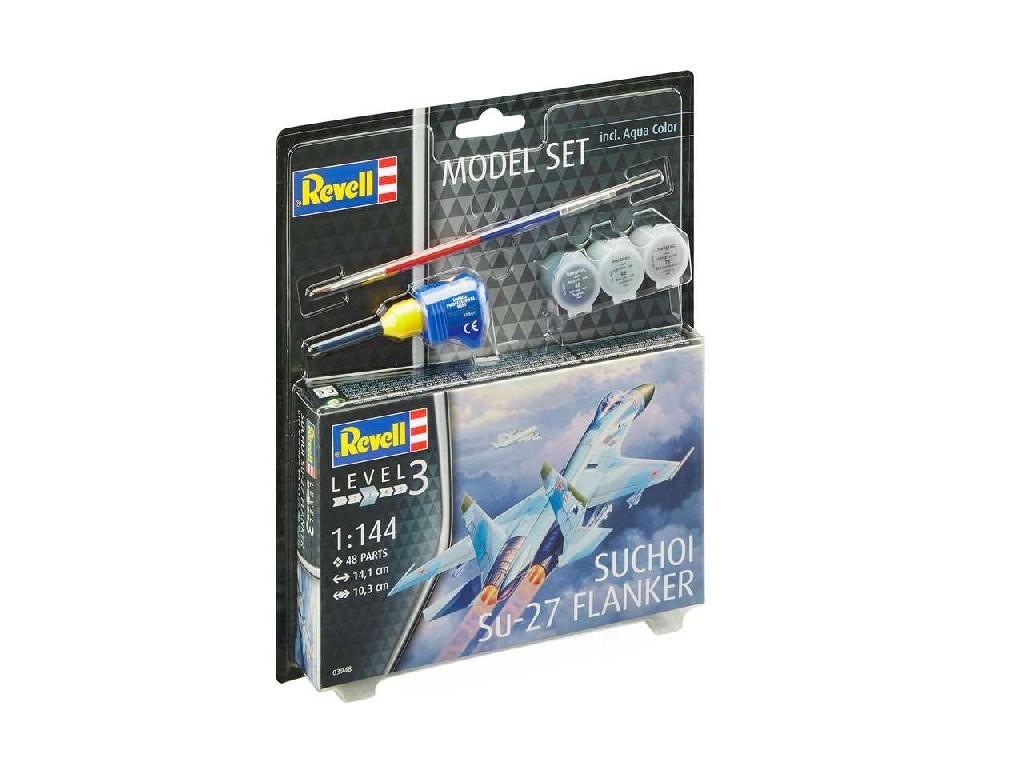 Revell - letadlo 63948 - Suchoi Su-27 Flanker 1:144