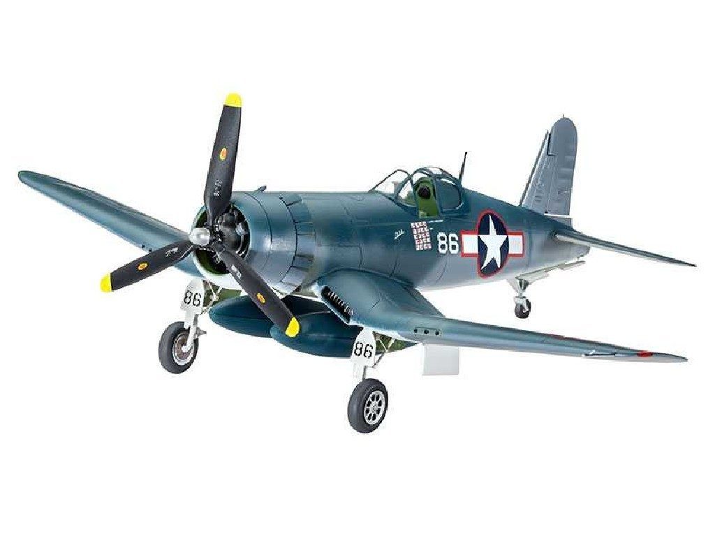 1/72 Plastikový model Set - letadlo 63983 - Vought F4U-1A Corsair