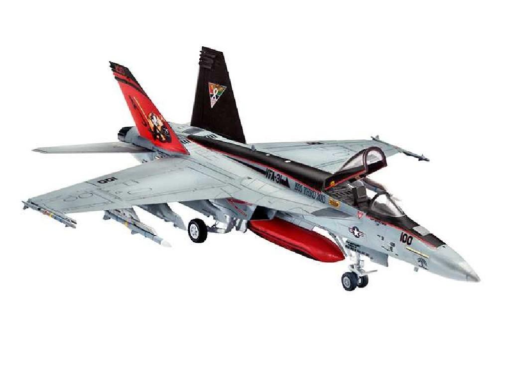 1/144 Plastikový model Set - letadlo 63997 - F/A-18E Super Hornet
