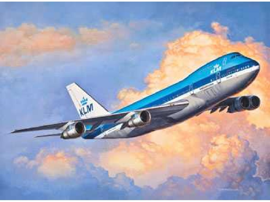 1/450 ModelSet letadlo 63999 - Boeing 747-200