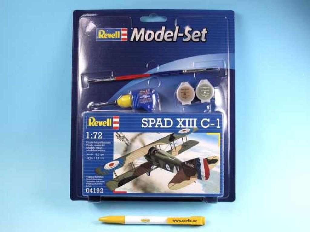 1/72 Plastikový model Set - letadlo 64192 - Spad XIII C-1