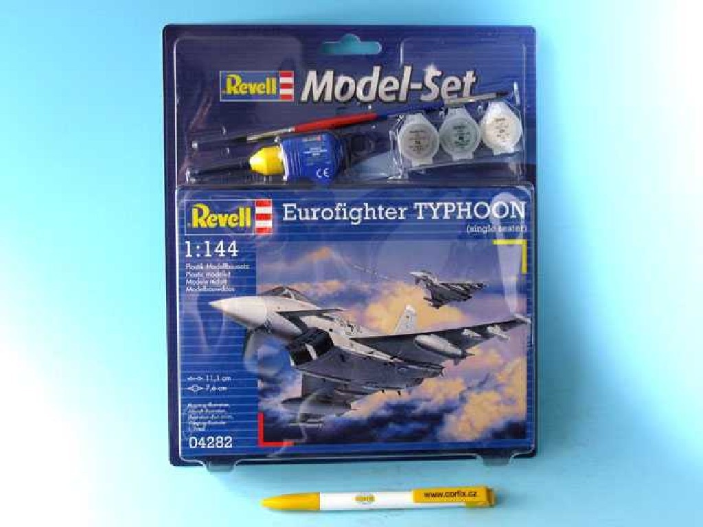 1/144 Plastikový model Set - letadlo 64282 - Eurofighter Typhoon