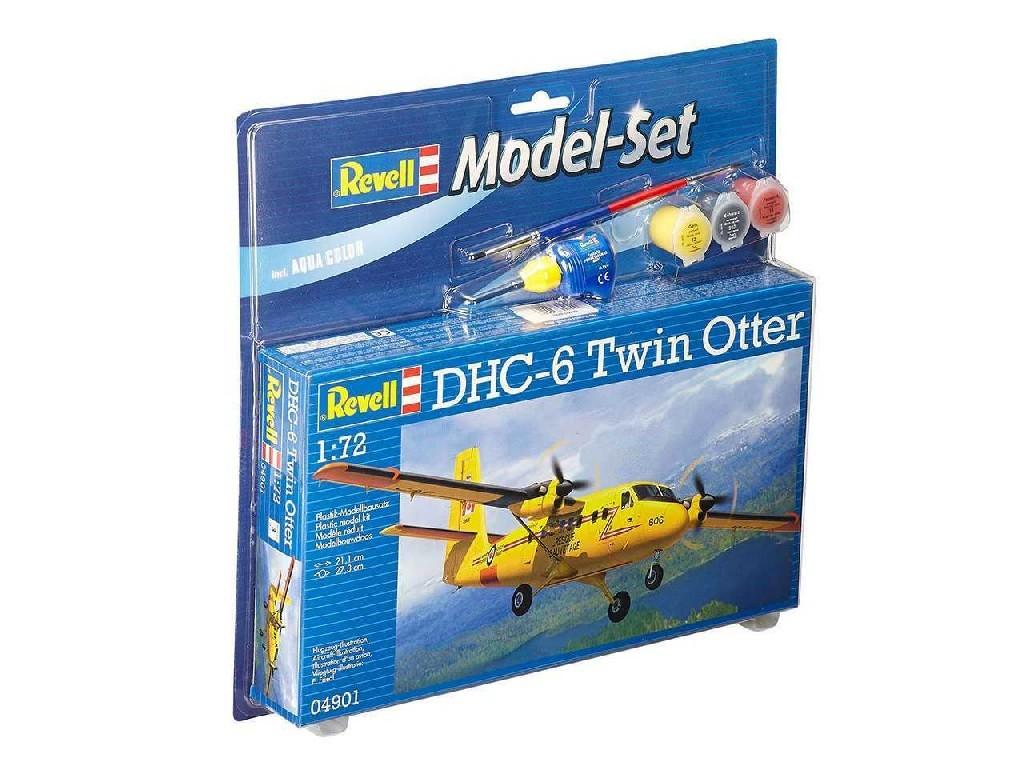 1/72 ModelSet letadlo 64901 - DHC-6 Twin Otter