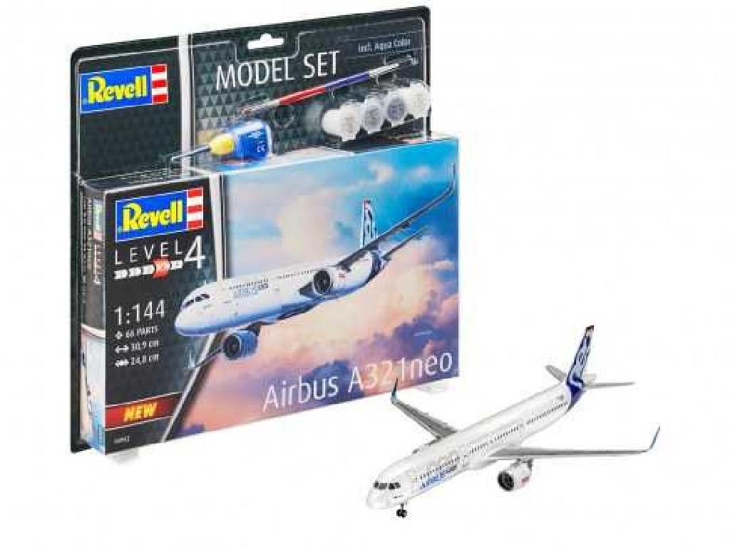 1/144 ModelSet letadlo 64952 - Airbus A321 Neo