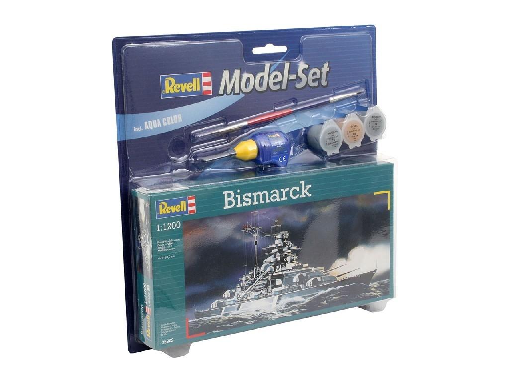 1/1200 ModelSet loď 65802 - Bismarck