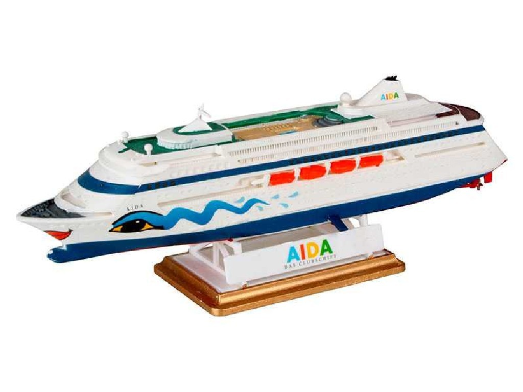 1/1200 Plastikový model Set - loď 65805 - AIDA