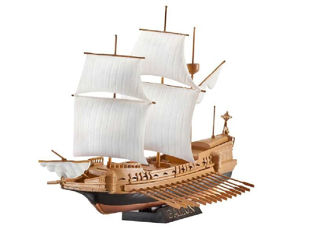1/450 Plastikový model Set - loď 65899 - Spanish Galleon