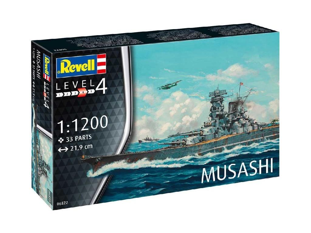 1/1200 ModelSet loď 66822 - Musashi