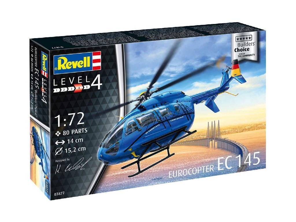 """1/72 ModelSet vrtulník 63877 - Eurocopter EC 145 """"Builder's Choice"""""""