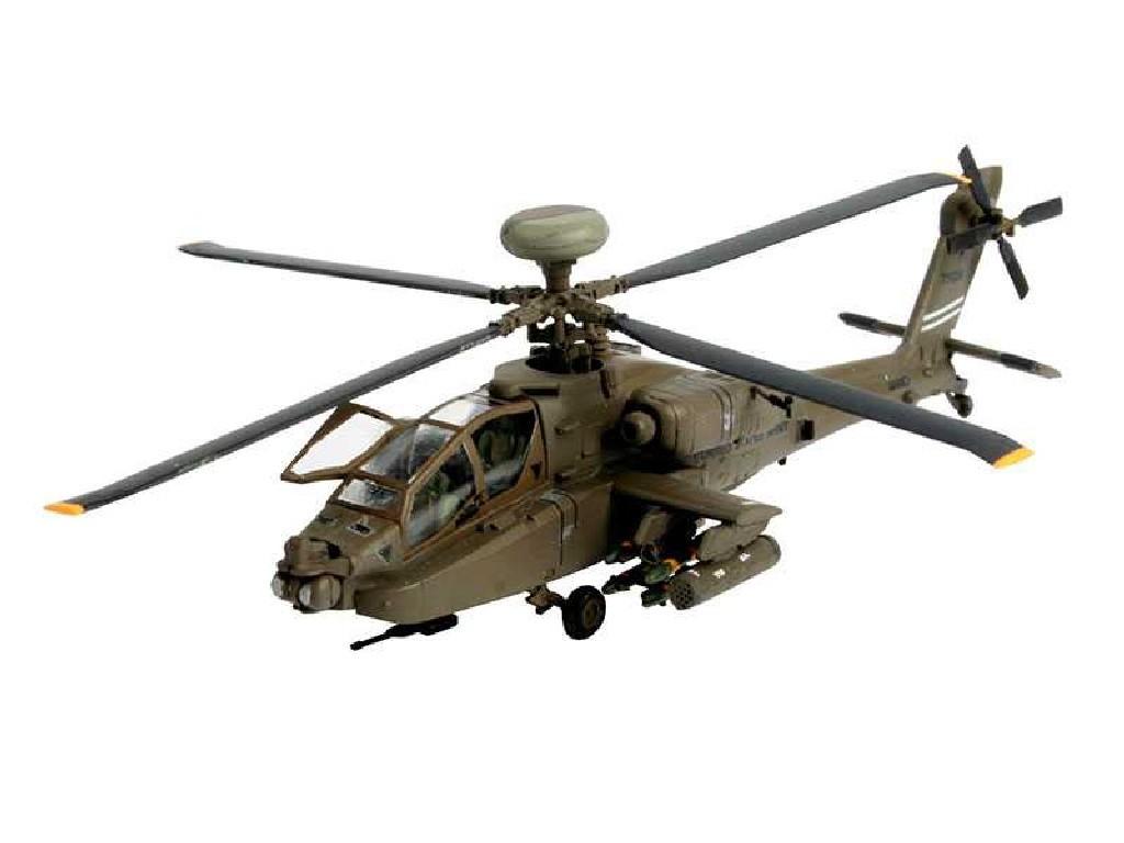 1/144 ModelSet vrtulník 64046 - AH-64D LONGBOW APACHE