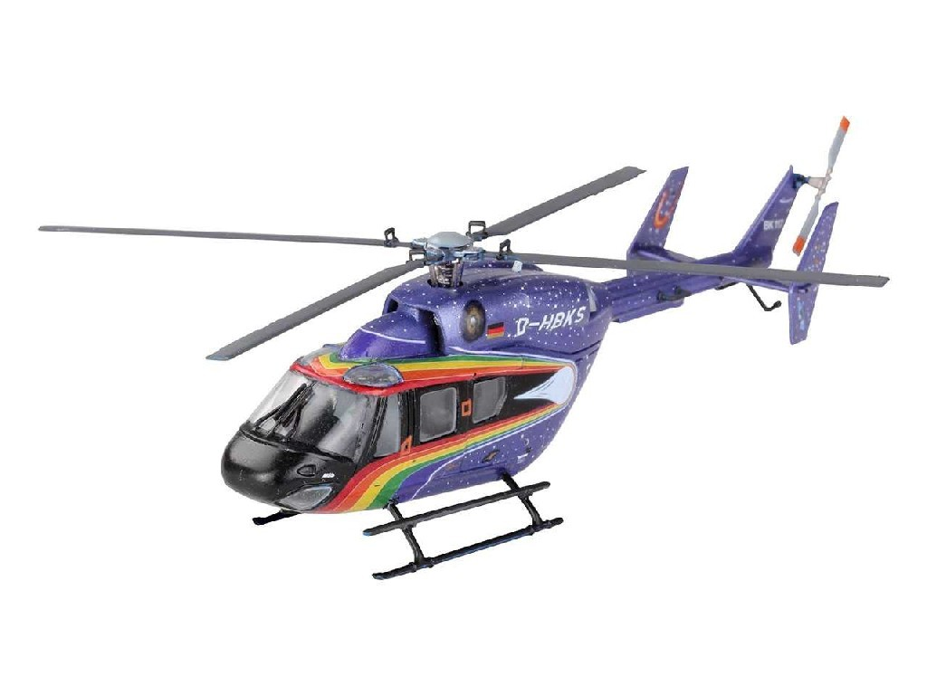 1/72 Plastikový model Set - vrtulník 64833 - Eurocopter BK 117 Space Design
