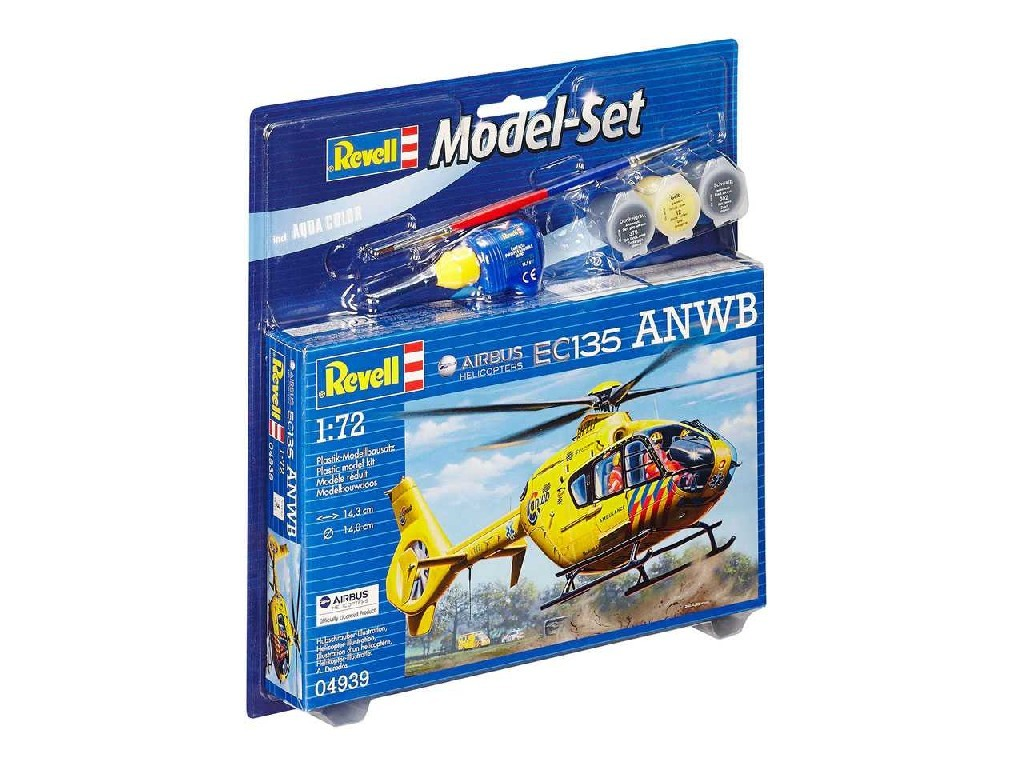 1/72 ModelSet vrtulník 64939 - Airbus Heli EC135 ANWB