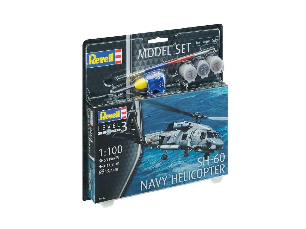 1/100 ModelSet vrtulník 64955 - SH-60 Navy Helicopter
