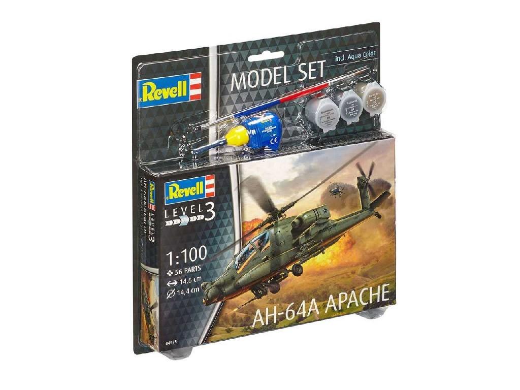 1/100 ModelSet vrtulník 64985 - AH-64A Apache