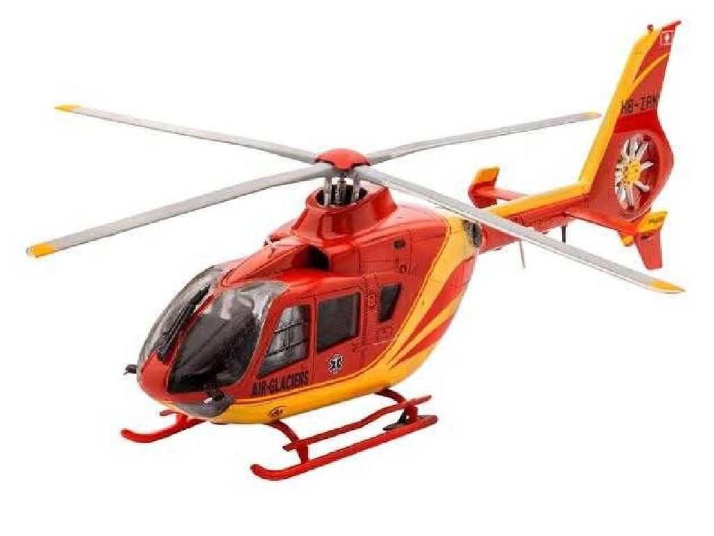 1/72 ModelSet vrtulník 64986 - EC 135 Air-Glaciers