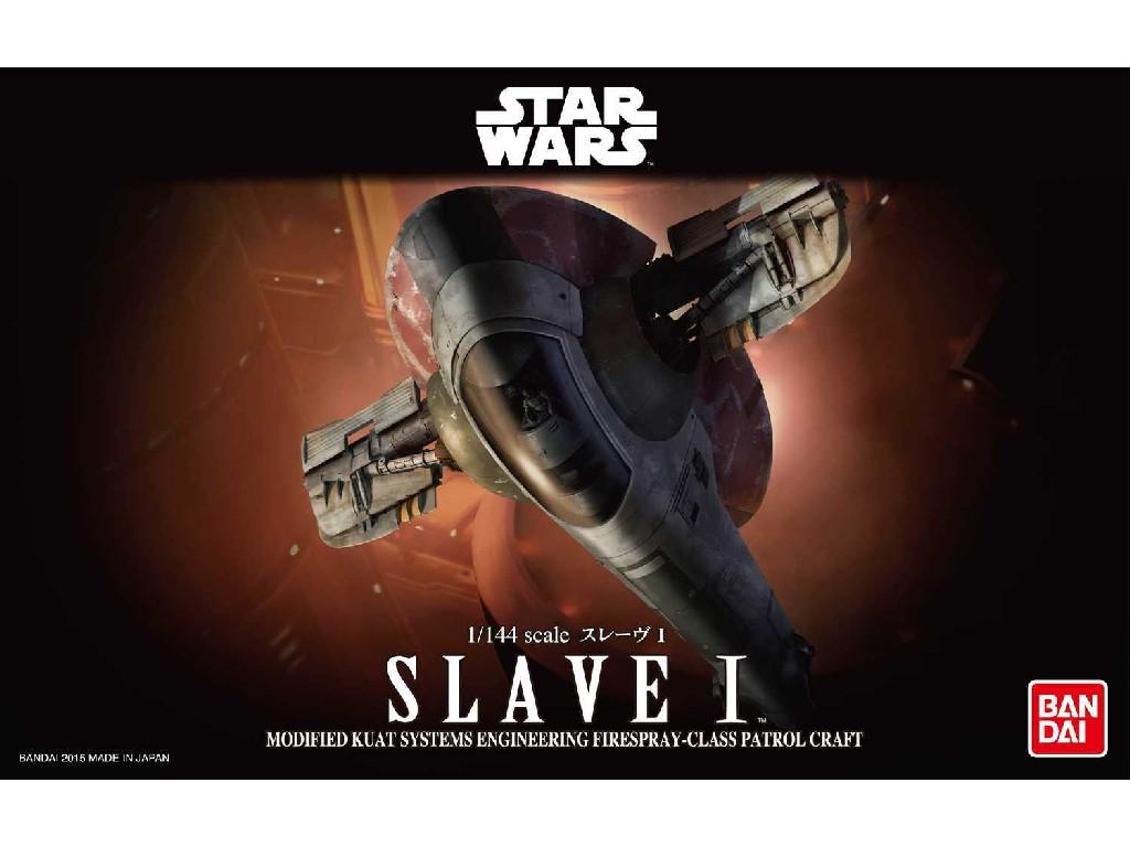 1/144 Plastikový model - Bandai SW 01204 - Slave I