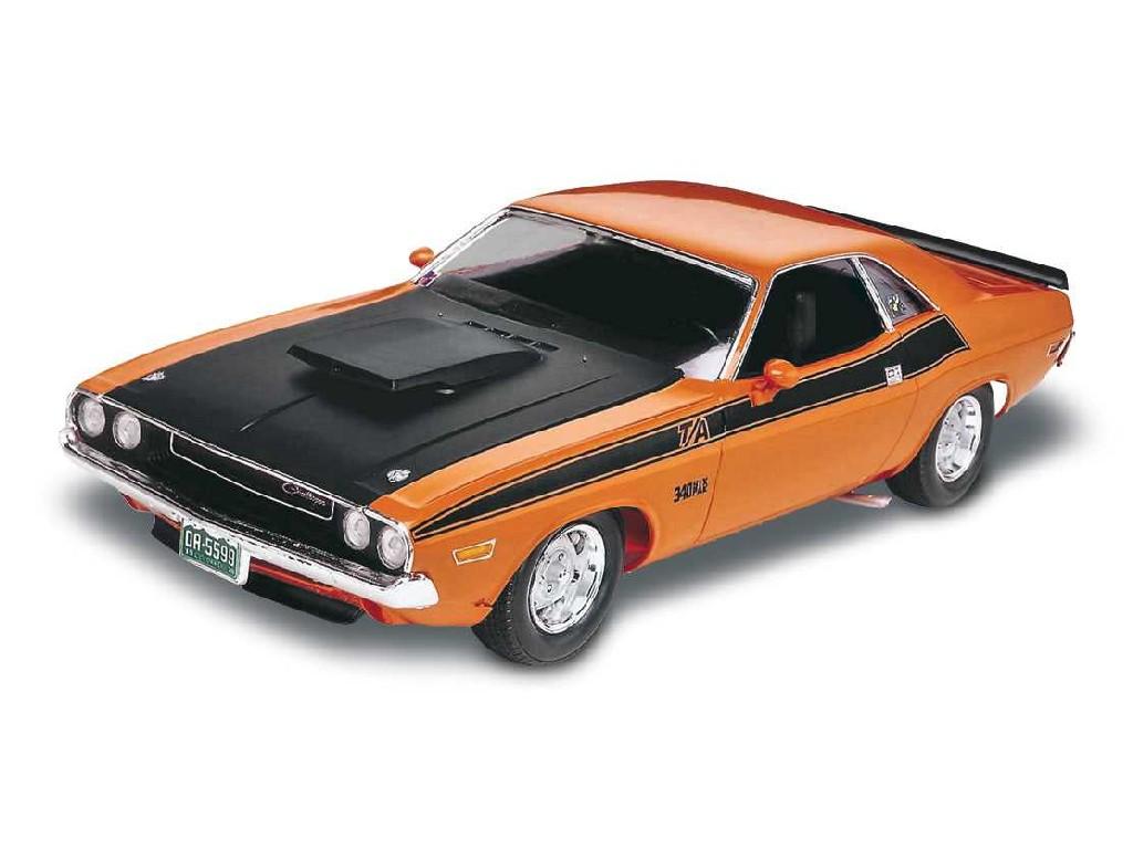 1/24 Plastikový model - Monogram auto 2596 - 70 Dodge Challenger 2 n 1