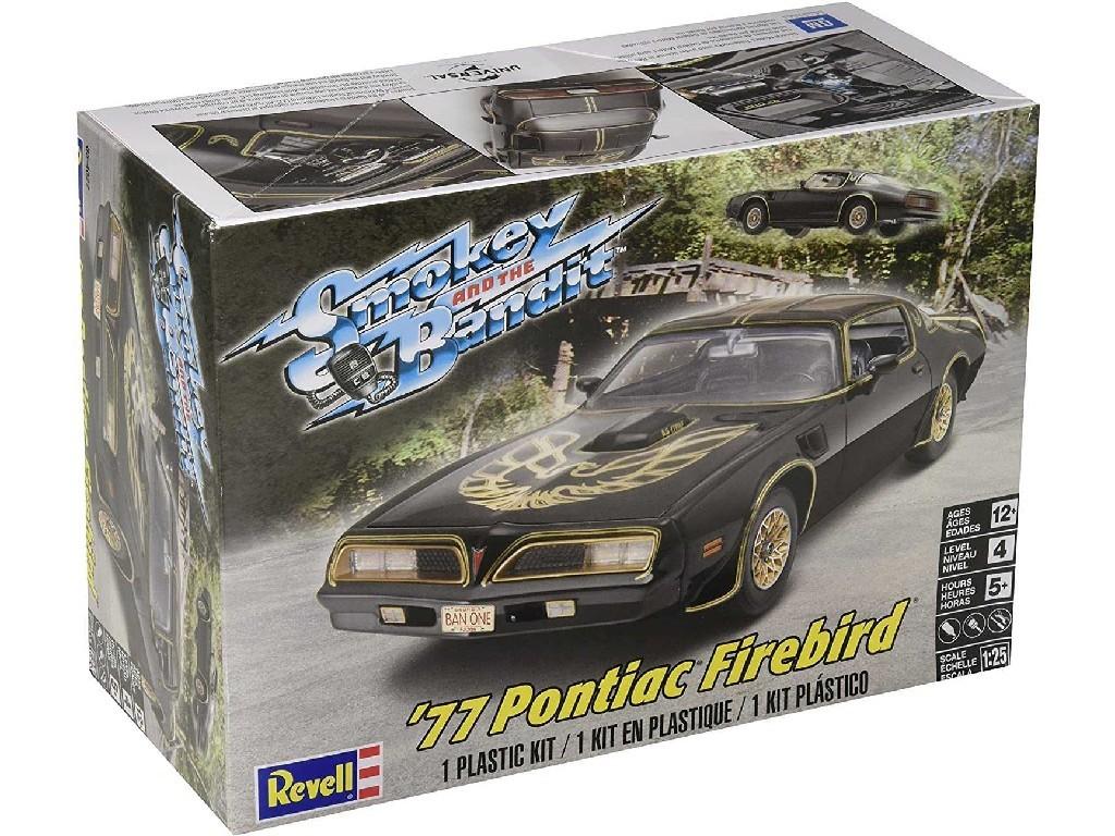 Revell - Monogram - auto 4027 - Smokey and the Bandit 77 Pontiac Firebird 1:25