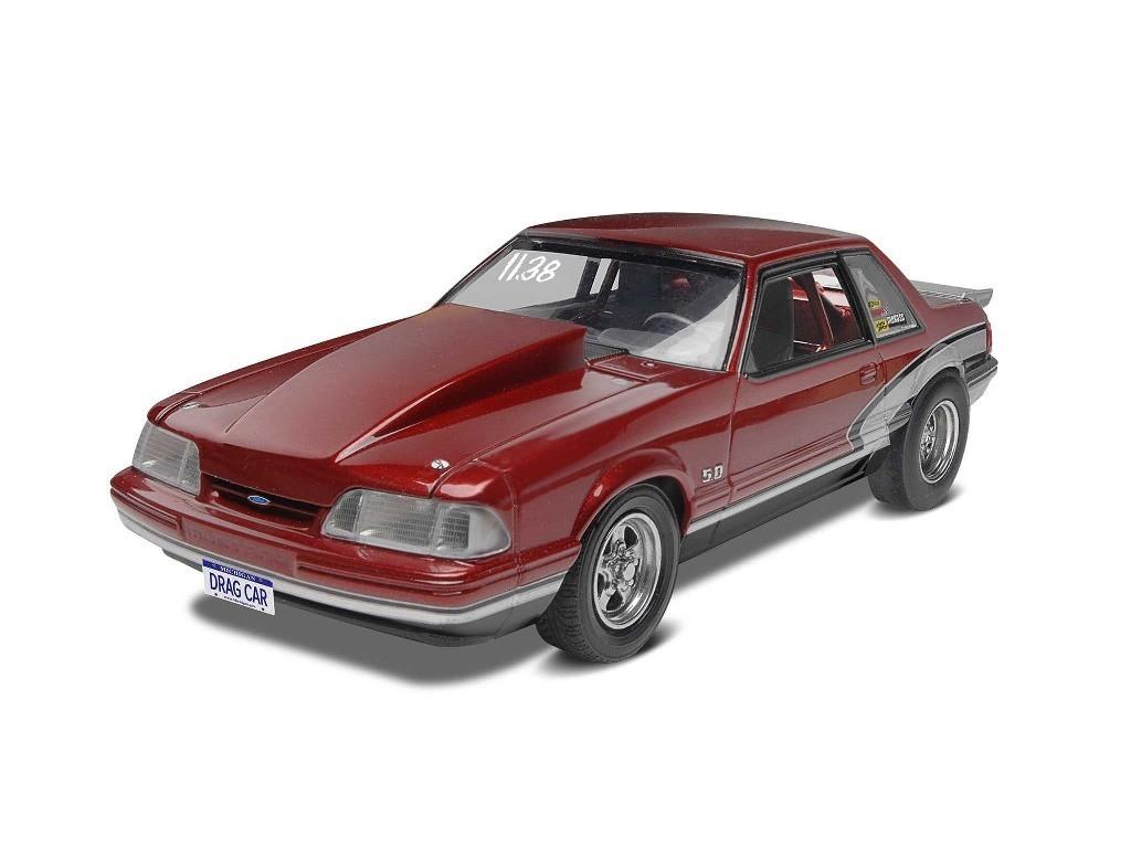 1/25 Plastikový model - Monogram auto 4195 - 90 Mustang LX 5,0 Drag Racer