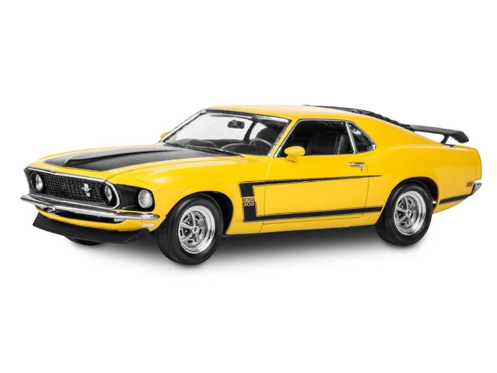 1/25 Plastikový model - Monogram auto 4313 - `69 Boss 302 Mustang