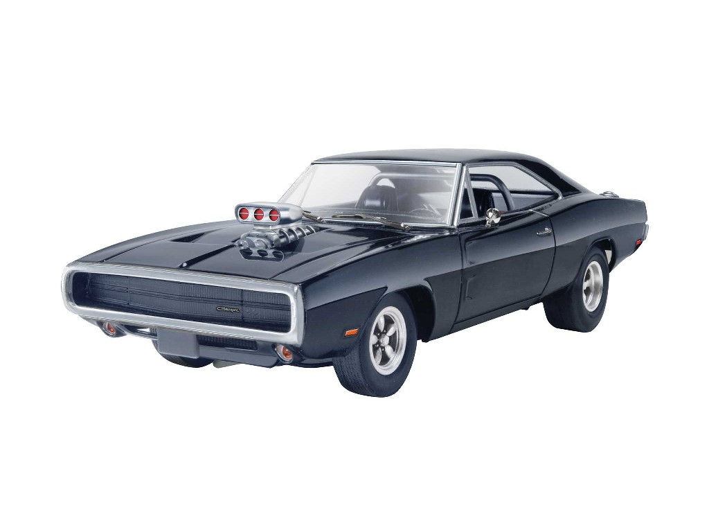1/25 Plastikový model - Monogram auto 4319 - Fast and Furious™ Dominics 1970 Dodge Charger