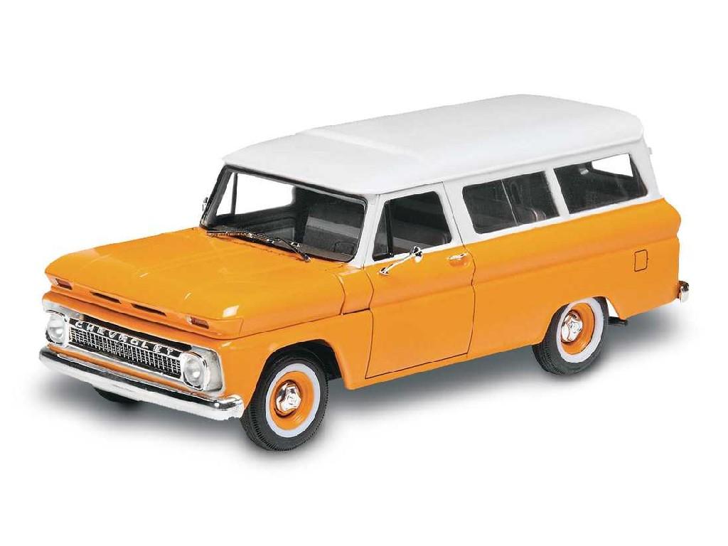 1/25 Plastikový model - Monogram auto 4409 - 66 Chevy® Suburban™