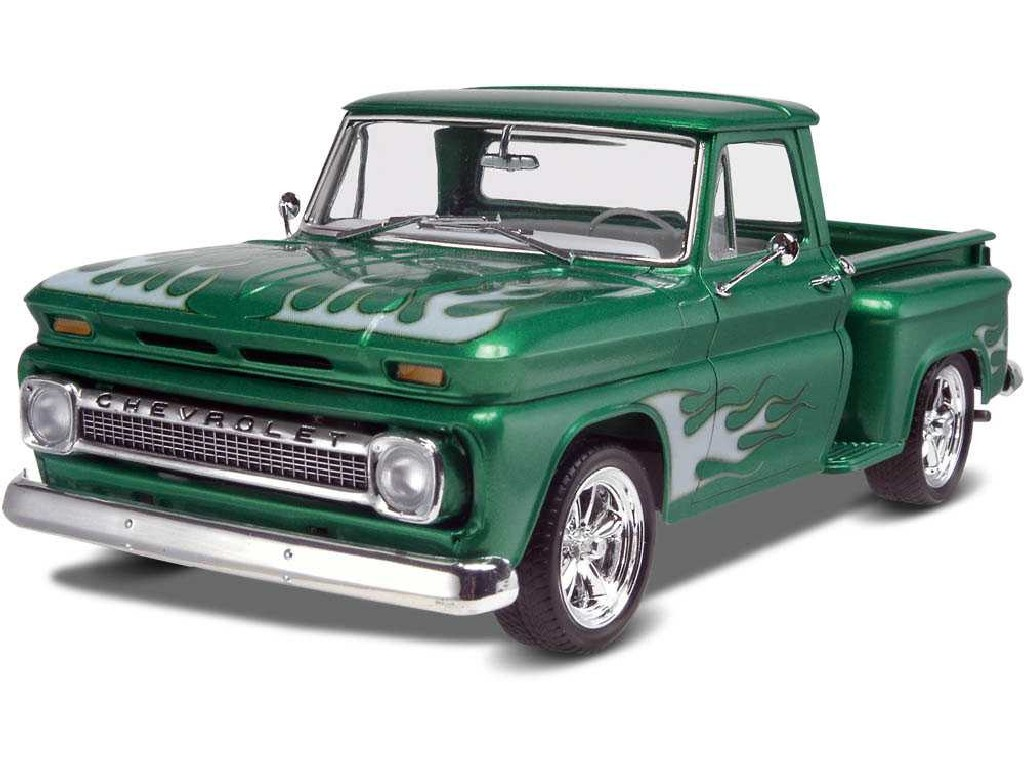 1/25 Plastikový model - Monogram auto 7210 - 65 Chevy® Stepside Pickup 2 n 1