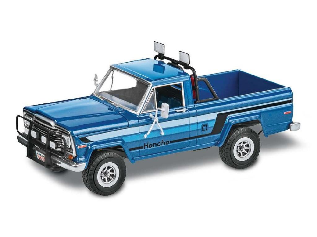1/25 Plastikový model - Monogram auto 7224 - 80 Jeep® Honcho Ice Patrol