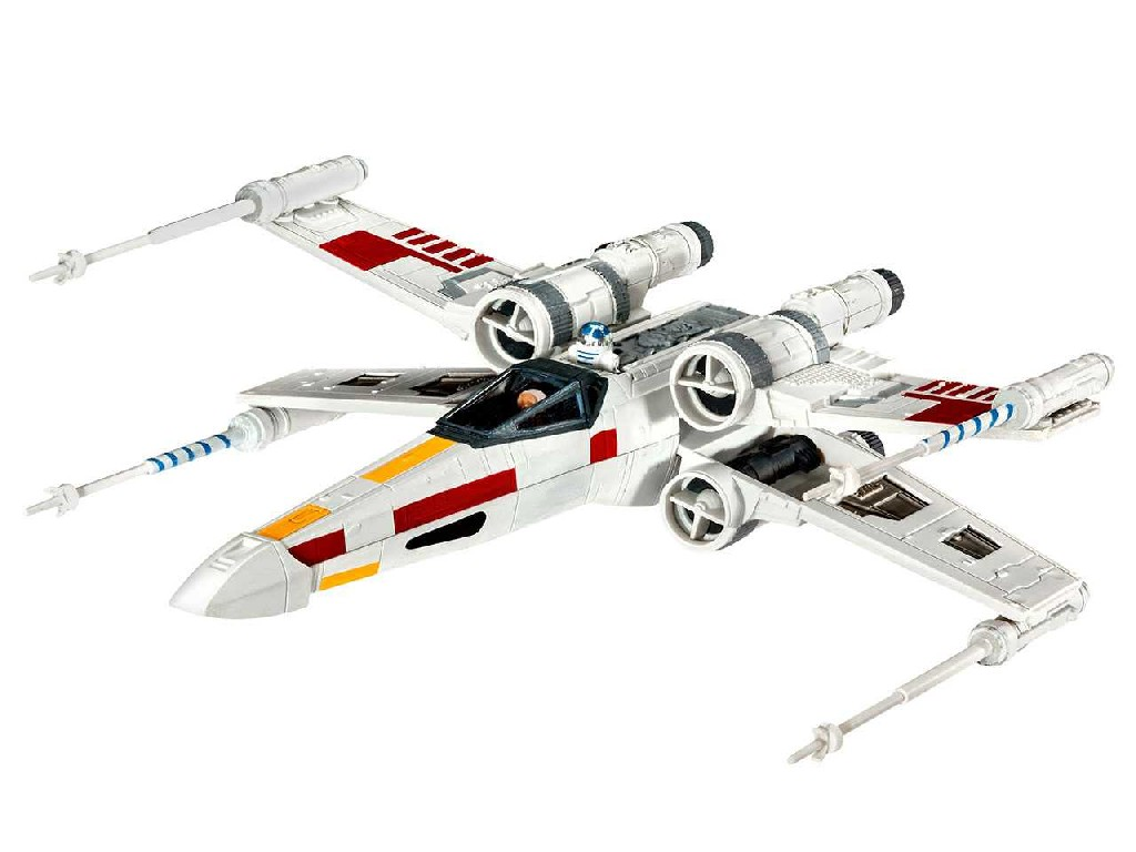 1/112 Plastikový model - SW 03601 - X-wing Fighter