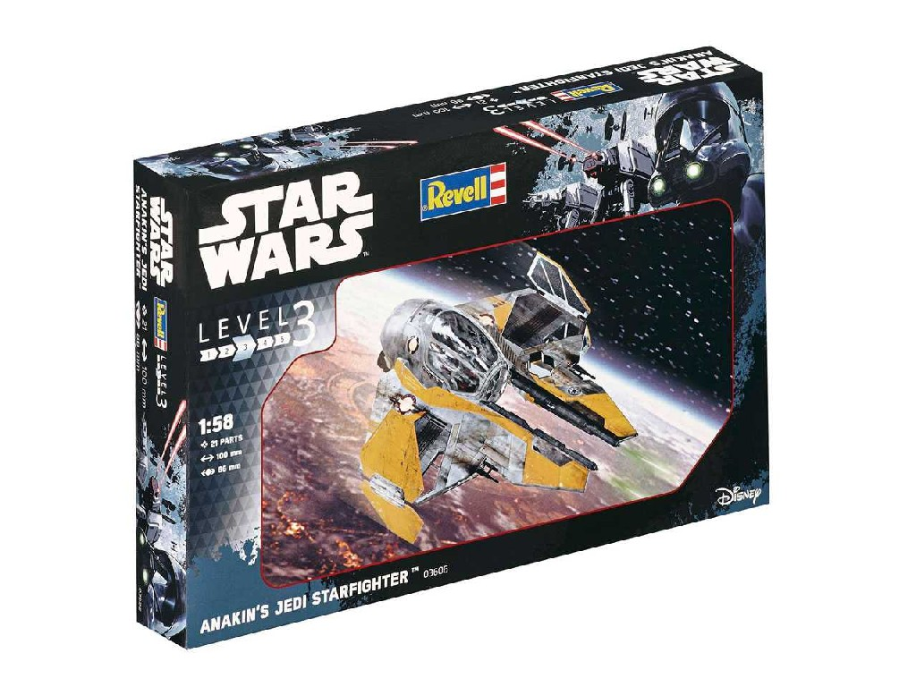 1/58 Plastikový model - SW 03606 - Anakin´s Jedi Starfighter