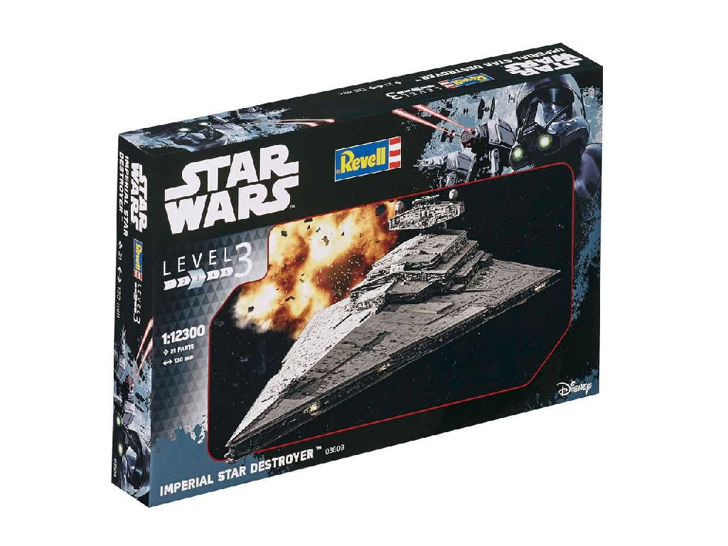 1/12300 Plastikový model - SW 03609 - Imperial Star Destroyer