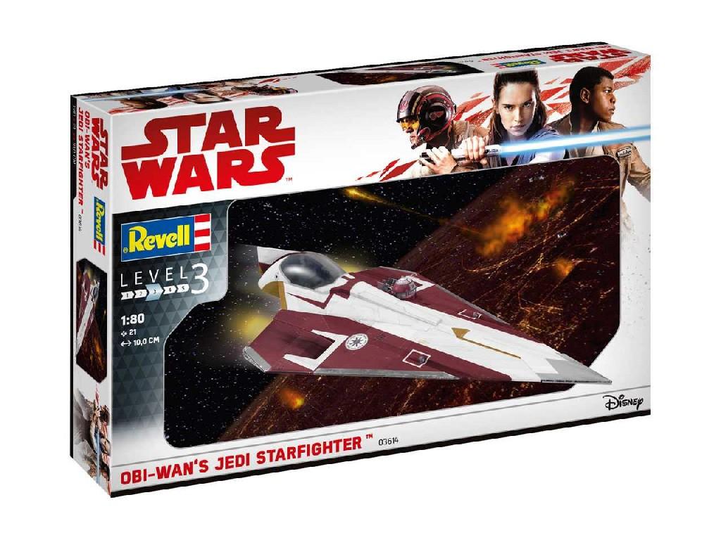 1/80 Plastikový model - SW 03614 - Obi-Wans Jedi Starfighter