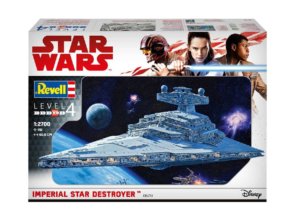 1/2700 Plastikový model - SW 06719 - Imperial Star Destroyer