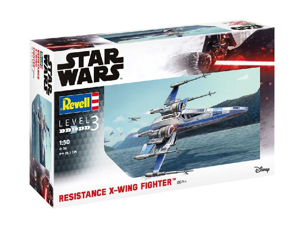 1/50 Plastikový model - SW 06744 - Resistance X-Wing Fighter