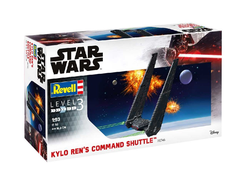 1/93 Plastikový model - SW 06746 - Kylo Rens Command Shuttle