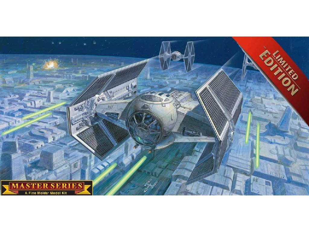 1/72 Plastikový model - SW Limited Edition 06881 - Darth Vaders TIE Fighter (master series)