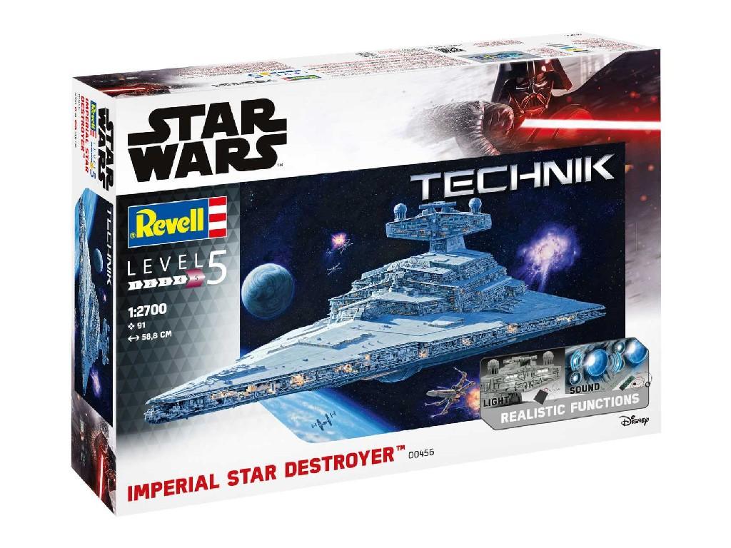 1/2700 Plastikový model - Technik SW 00456 - Imperial Star Destroyer