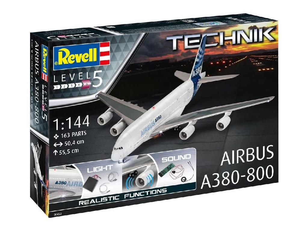 1/144 Plastikový model - Technik letadlo 00453 - Airbus A380-800