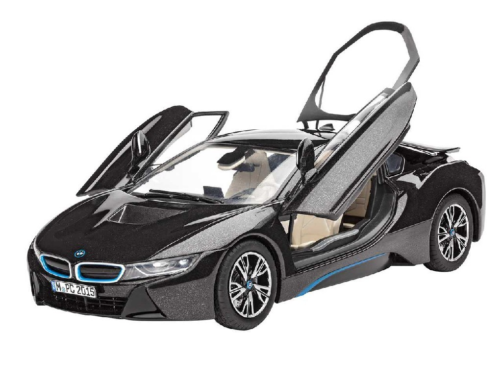1/24 Plastikový model - auto 07008 - BMW i8