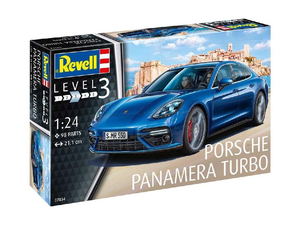 1/24 Plastikový model - auto 07034 - Porsche Panamera Turbo