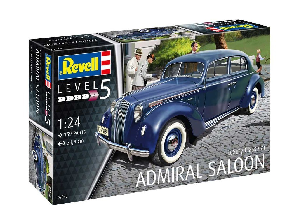 1/24 Plastikový model - auto 07042 - Luxury Class Car Admiral Saloon