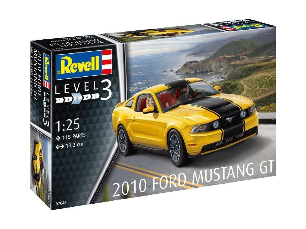 1/25 Plastikový model - auto 07046 - 2010 Ford Mustang GT