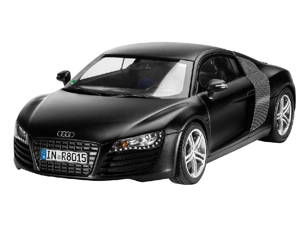 1/24 Plastikový model - auto 07057 - Audi R8 black