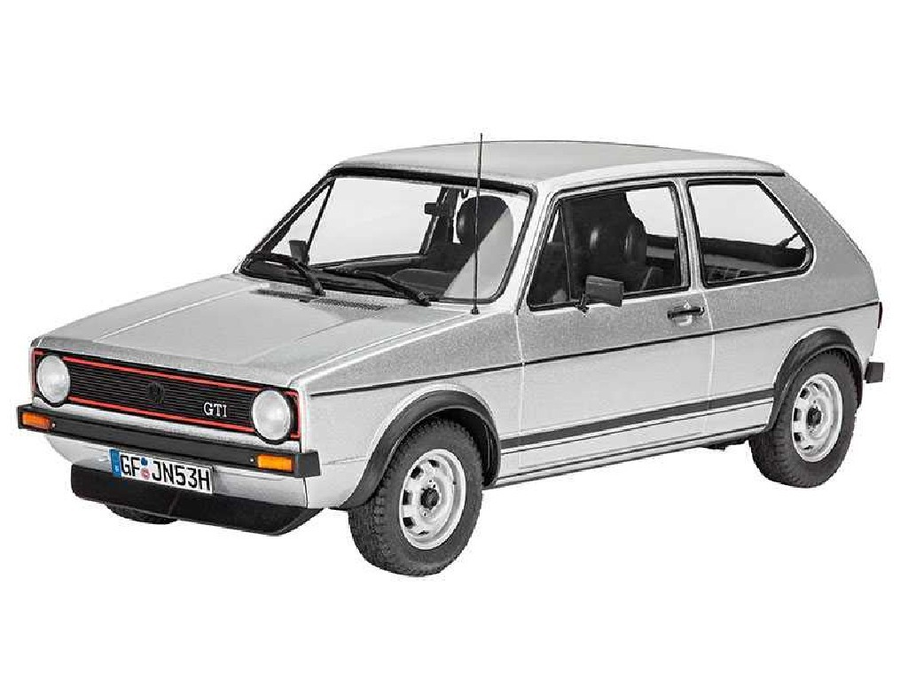 1/24 Plastikový model - auto 07072 - VW Golf 1 GTI